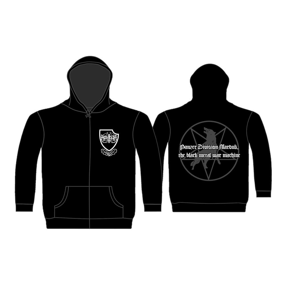 Marduk - Black Metal War Machine ( Zip Hoodie)