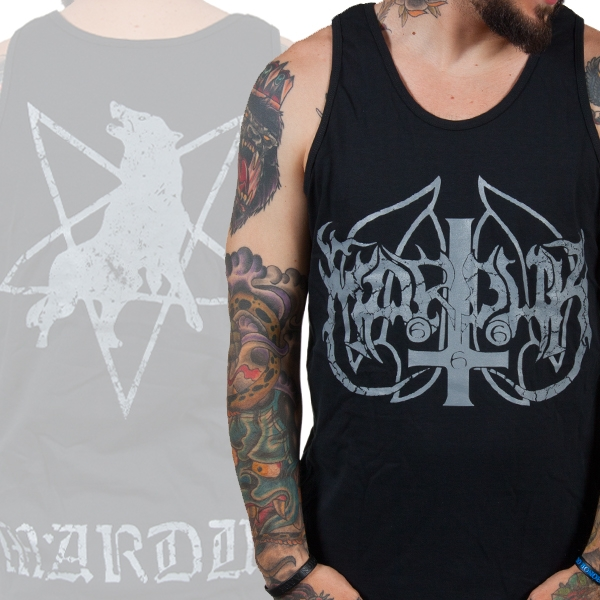 Marduk - Wolf (Black) (Tank Top)