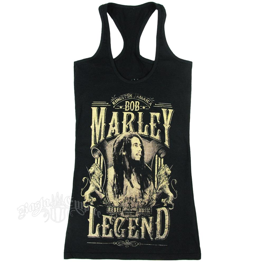 Bob Marley - Legend (Black) (Women's)