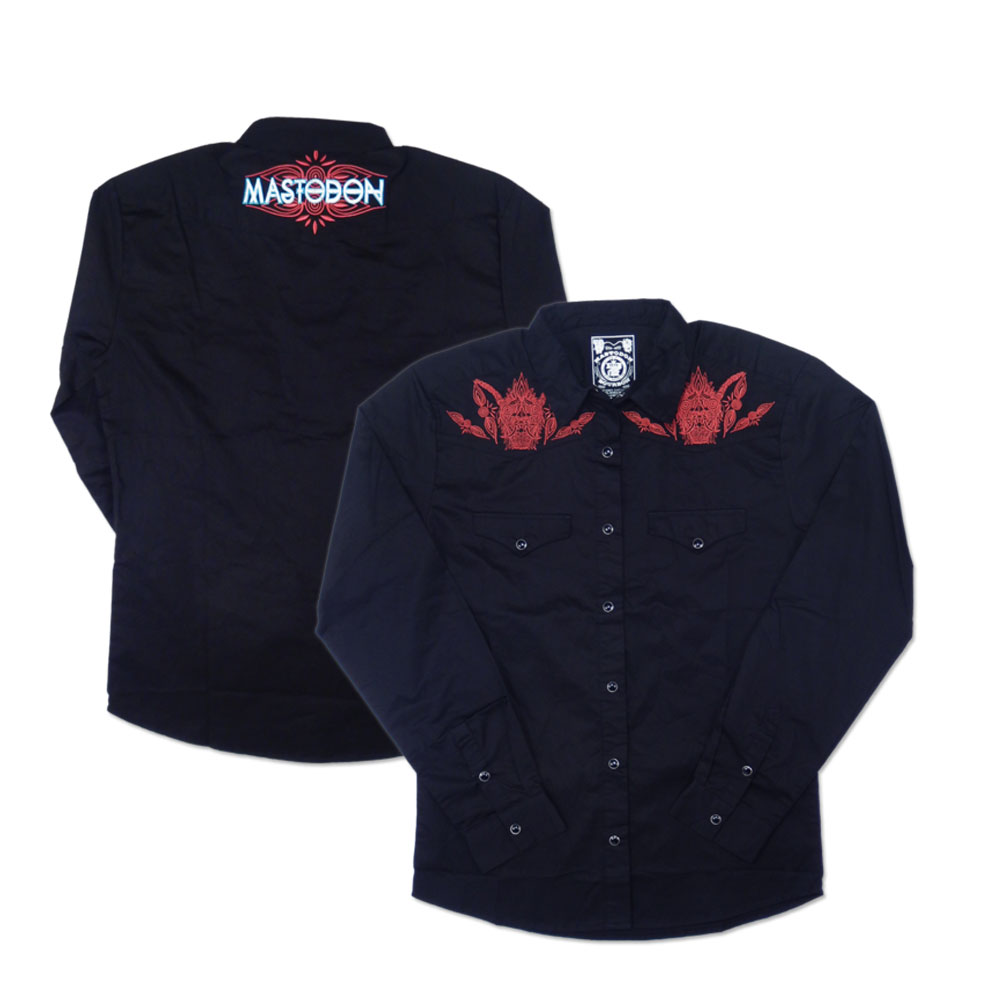 Mastodon - Embroidered Western Shirt