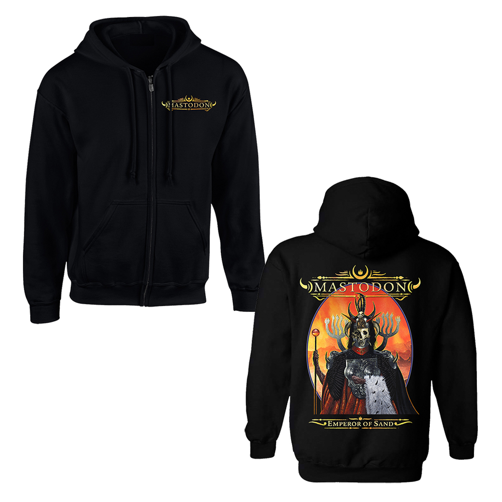 Mastodon - Emperor Of Sand (Zip Up Hoodie)