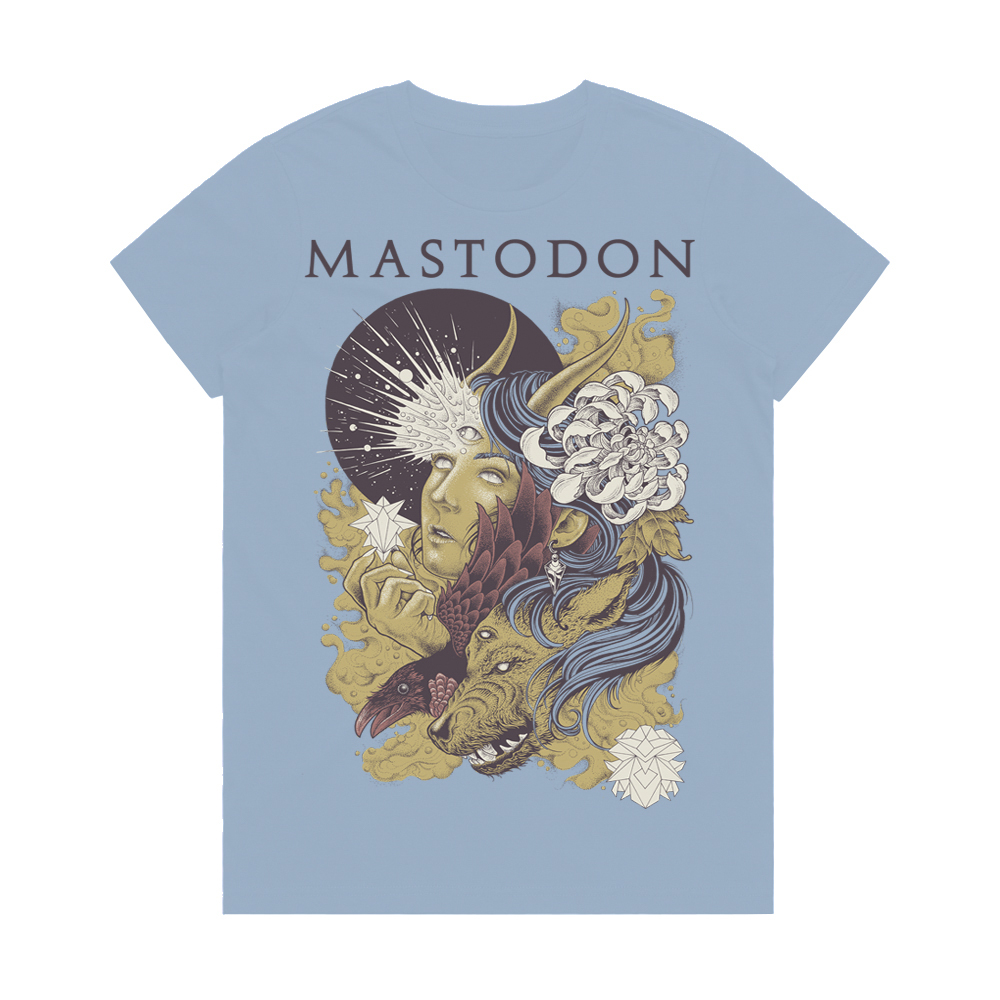 Mastodon - Love Goddess (Women's T-Shirt)