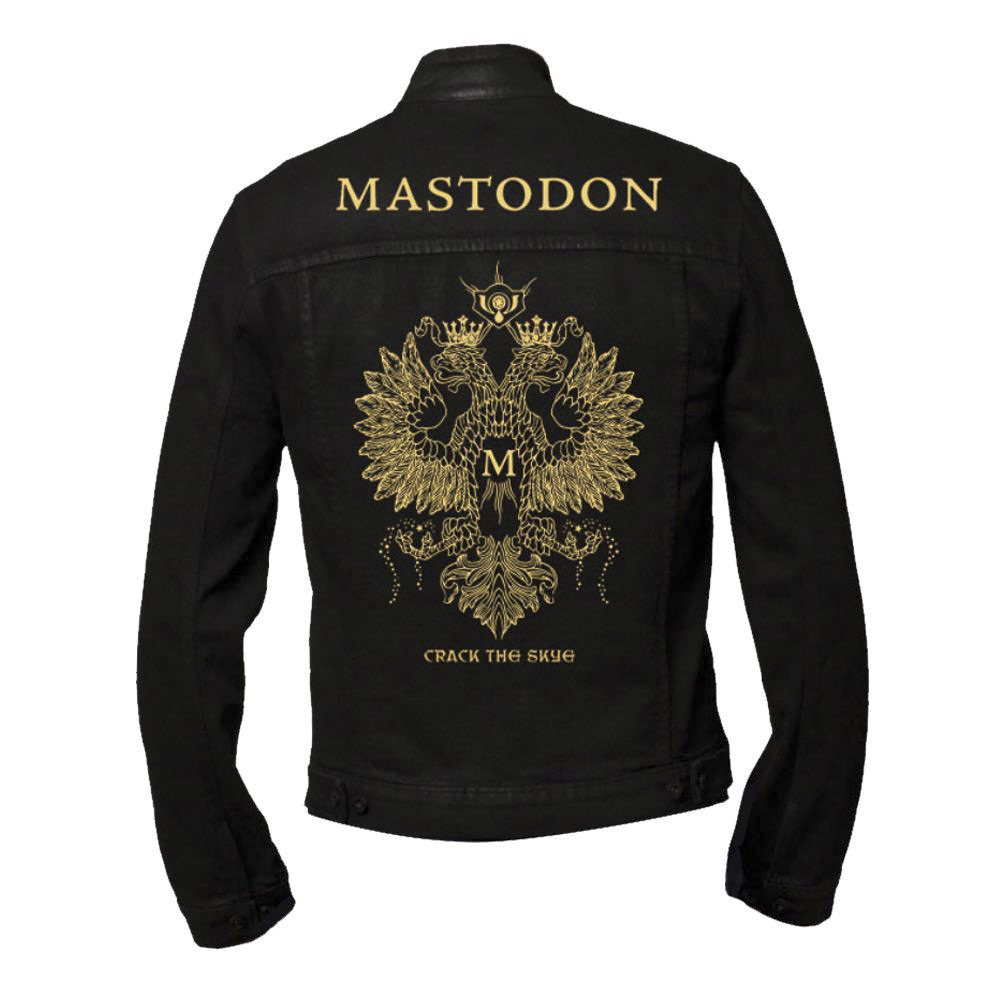 Mastodon - Gold Eagle Denim Jacket
