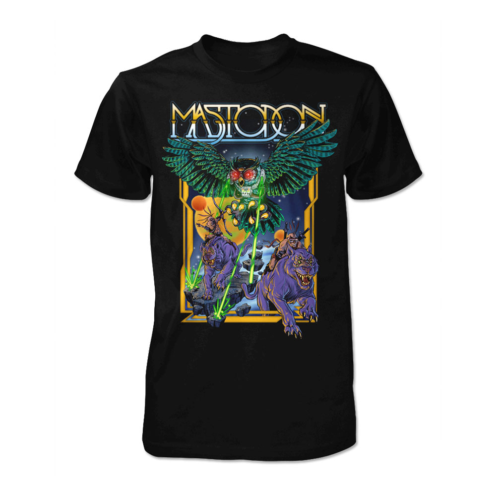 Mastodon - Space Owl (Black)