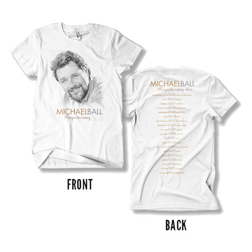 Michael Ball - Photo 2015 (White)