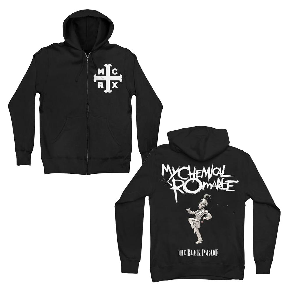 Planet Rock Mcrx Zip Hoodie My Chemical Romance