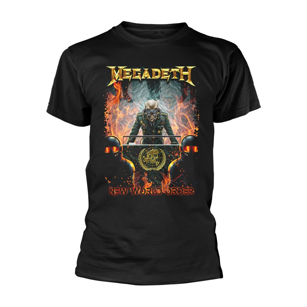 megadeth new world order tour shirt