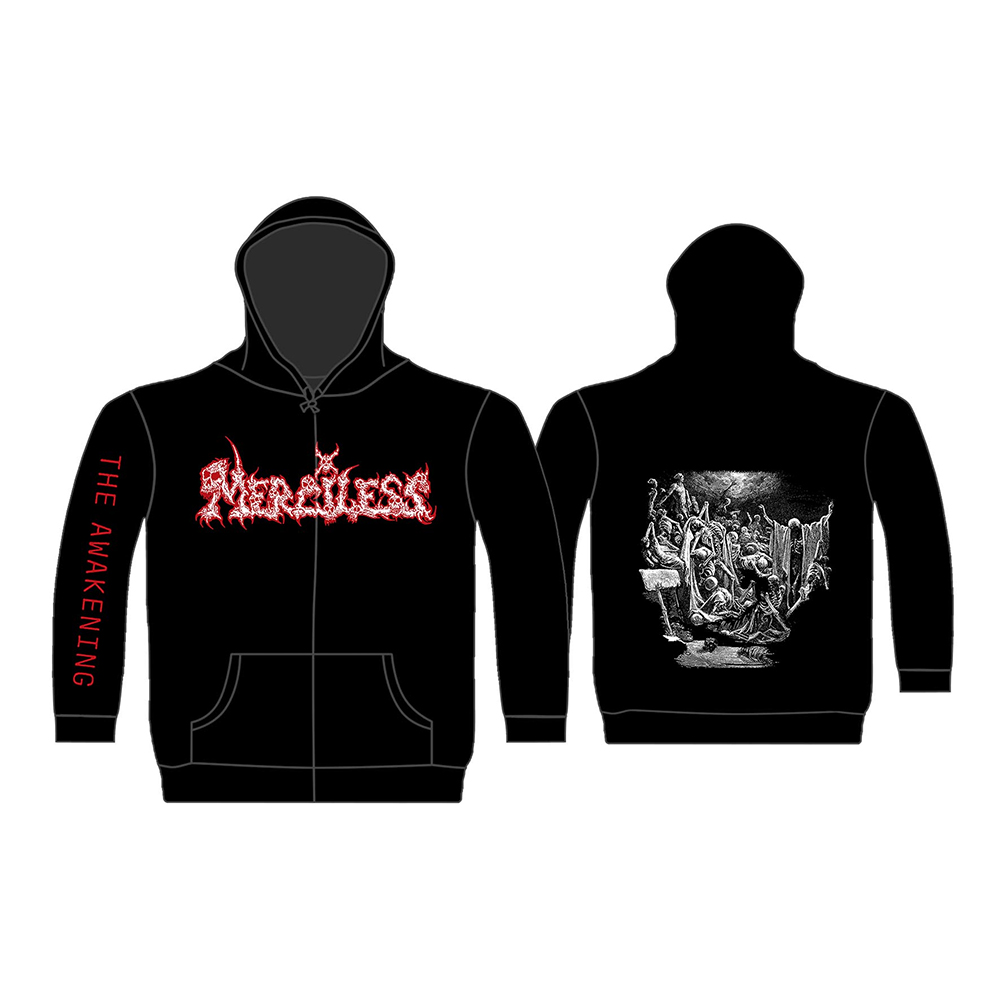 Merciless - The Awakening 2019 (Zip Hoodie)