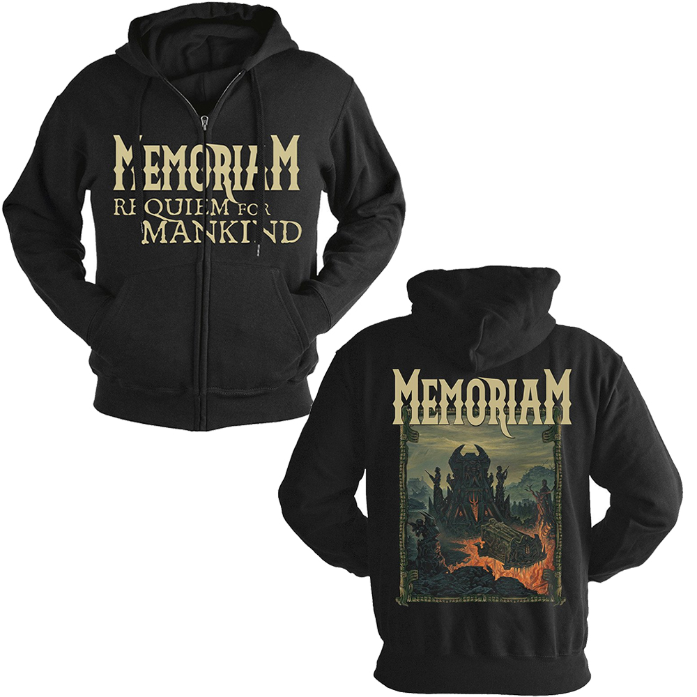 Memoriam - Requiem For Mankind (Zip Hoodie)