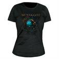 Meshuggah Head (Girls) Womens T-Shirt