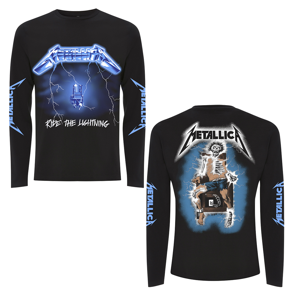 Metallica - Ride The Lightning (Black Longsleeve)