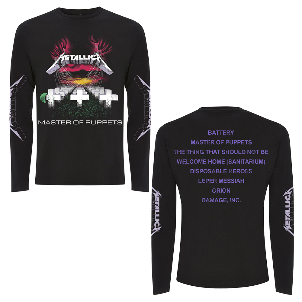 Blabbermouth | Metallica Long Sleeve T-Shirts