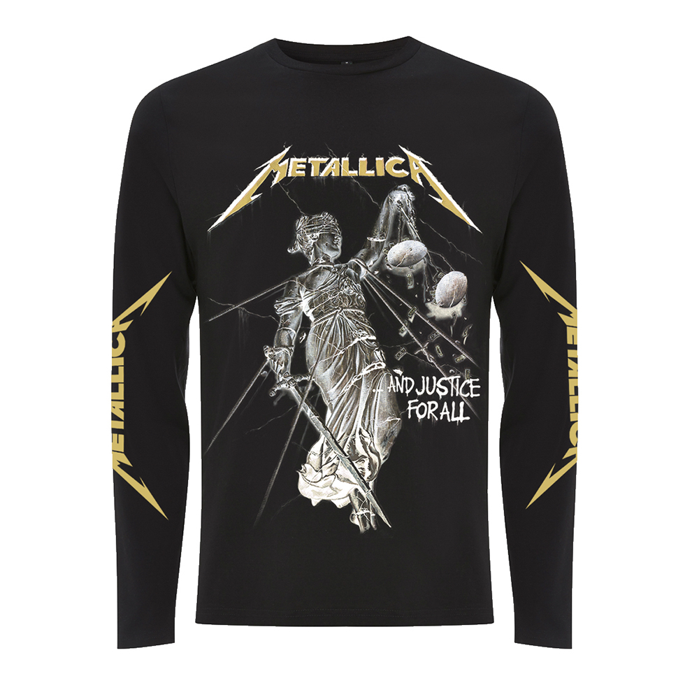 Metallica -  And Justice For All (Black Longsleeve)