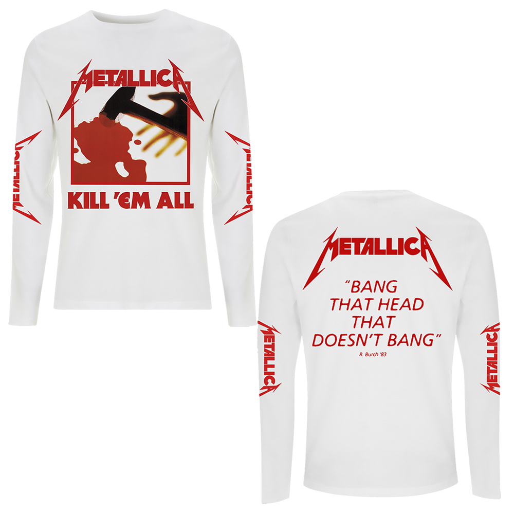Metallica - Kill Em All (White Longsleeve)