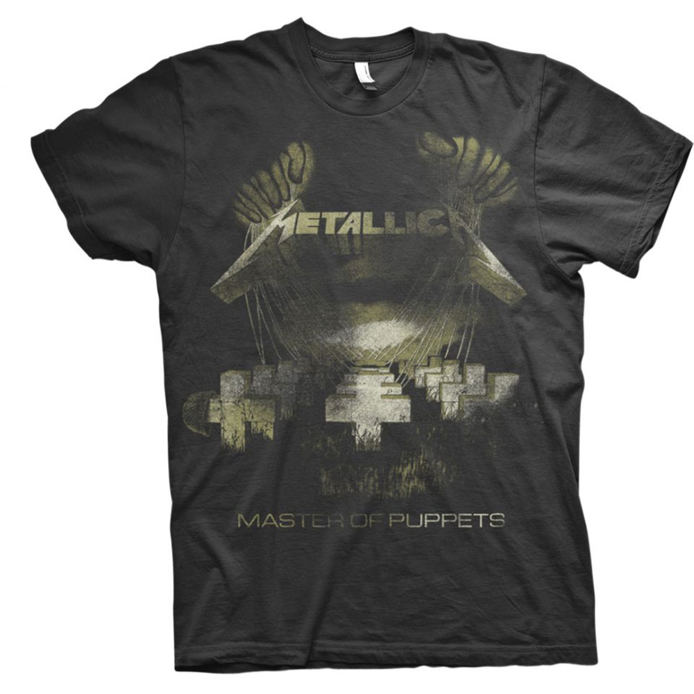 Metallica - Master Of Puppets Distressed