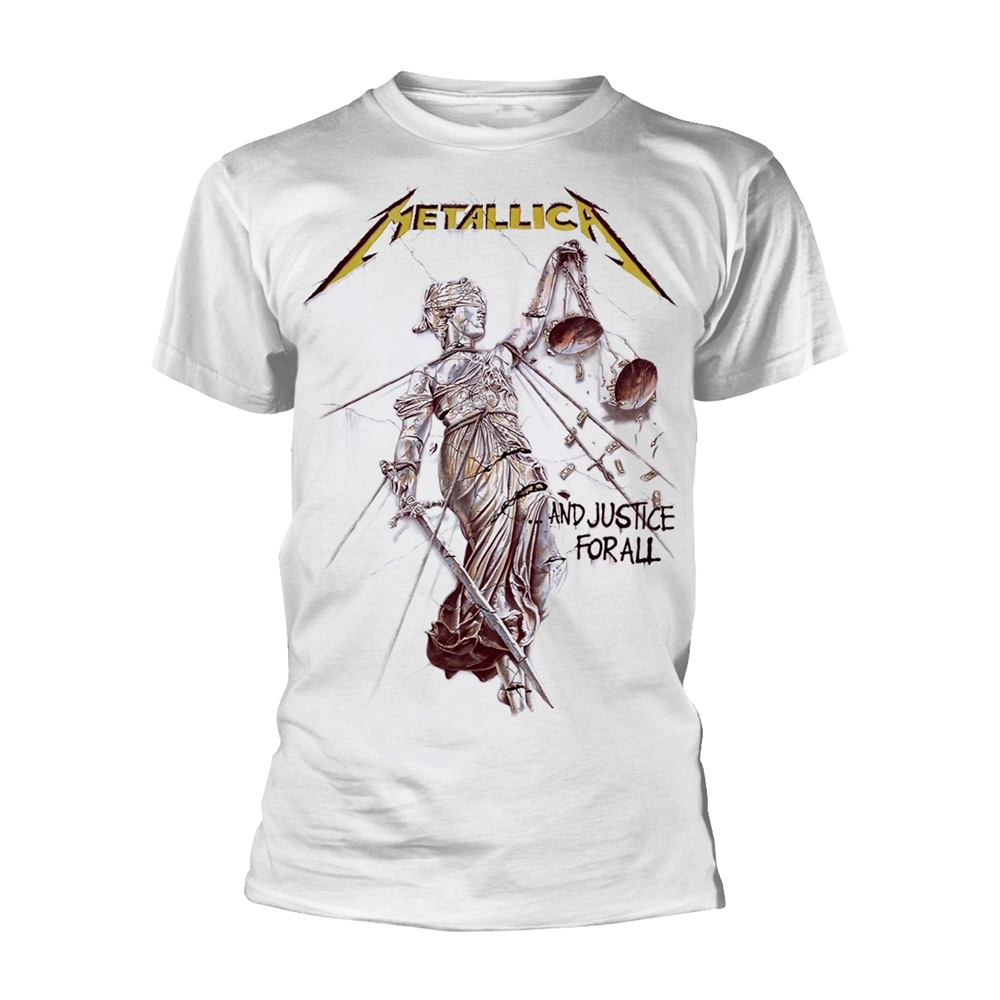 Metallica - And Justice For All (White)