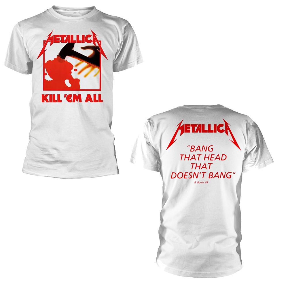 Metallica - Kill Em All (White)