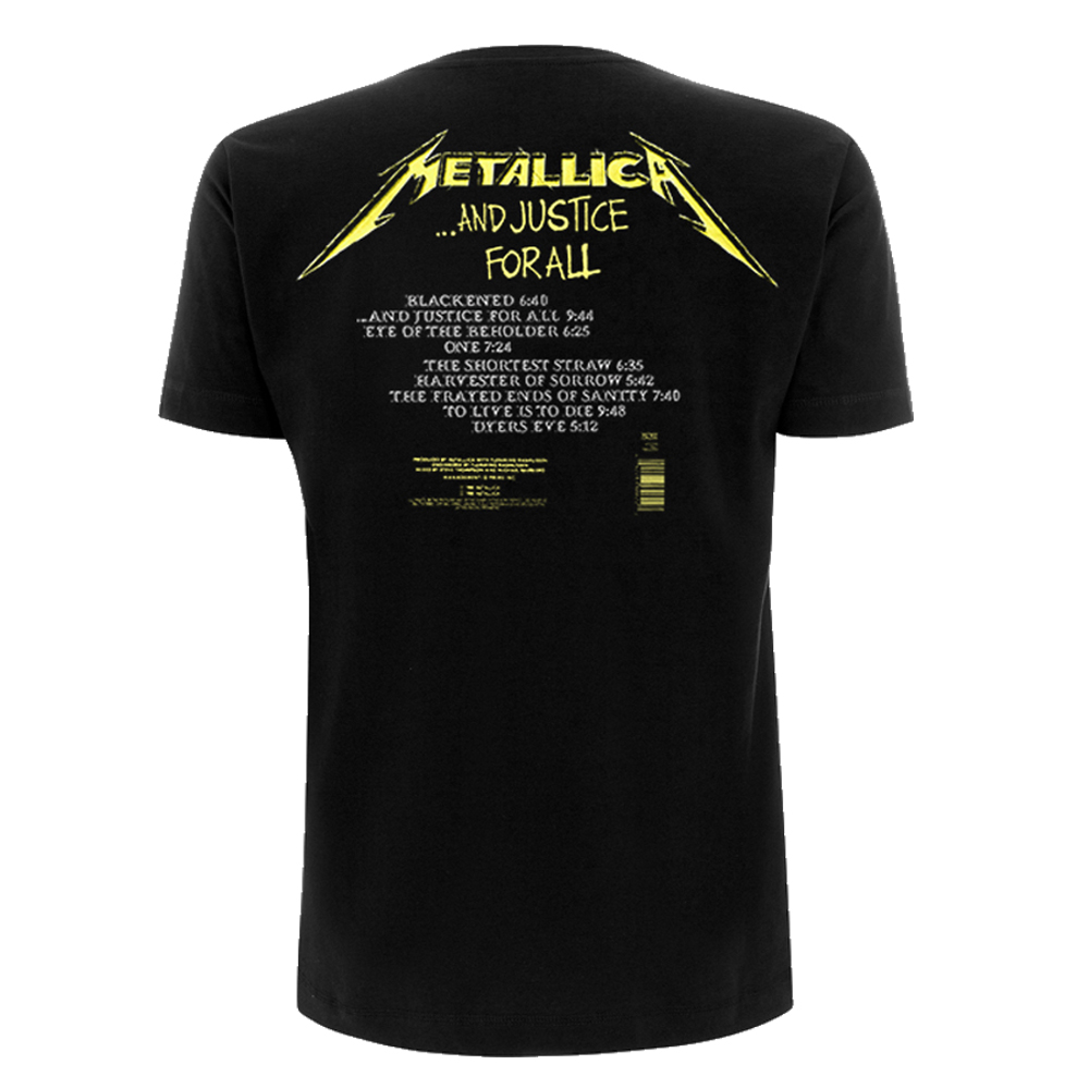 Metallica - And Justice For All Tracks (Black)