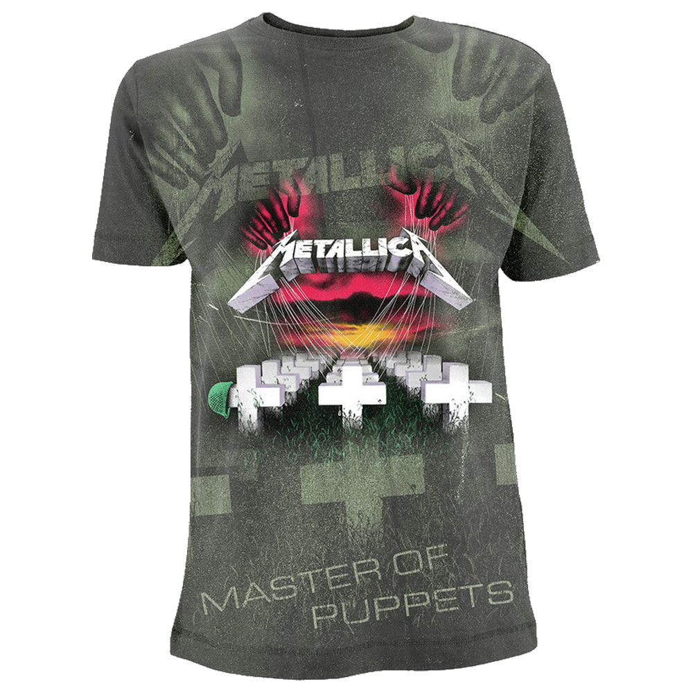 Metallica - Master Of Puppets All Over (Charcoal)