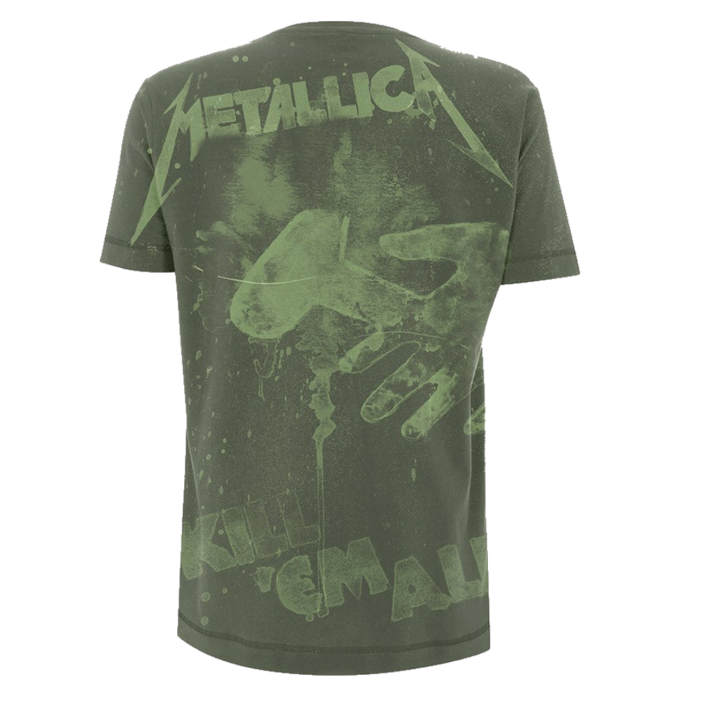 Metallica -  Kill 'Em All All Over (Olive Green)