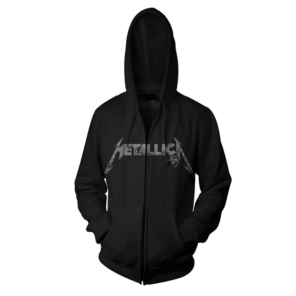 Metallica - Phantom Lord (Black Zip Hoodie)