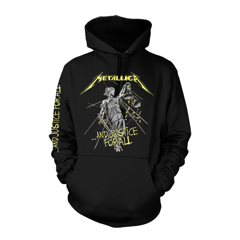 Metallica -  And Justice For All Tracks  (Black Hoodie)
