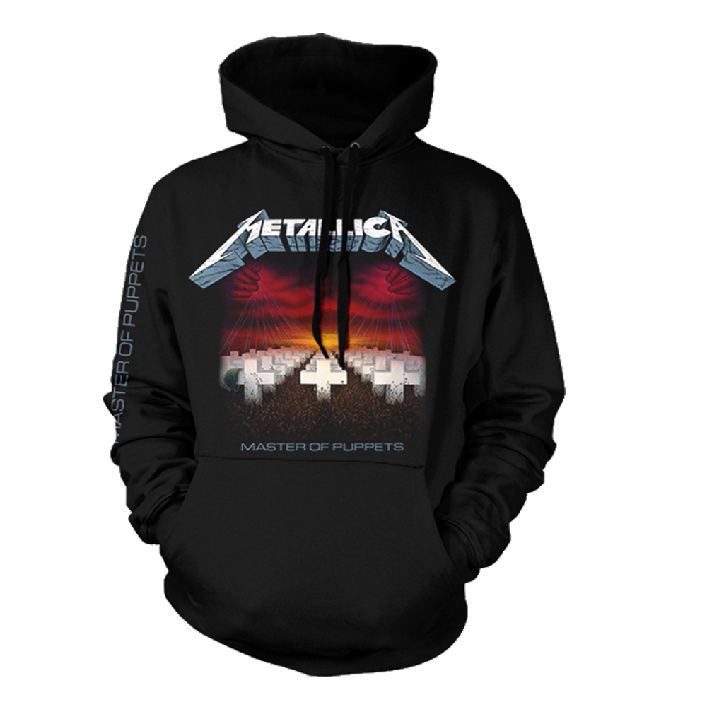 Metallica - Master Of Puppets Tracks (Black Hoodie)