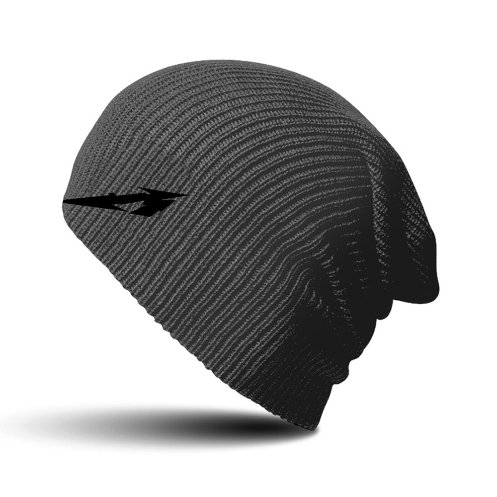 Metallica - Glitch M Circle Charcoal Beanie