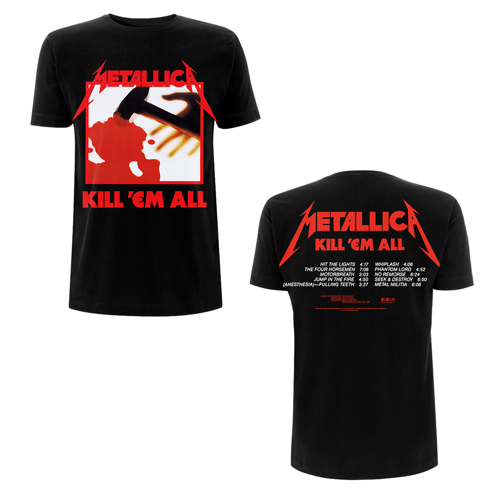 Metallica - Kill 'Em All Black Tracks