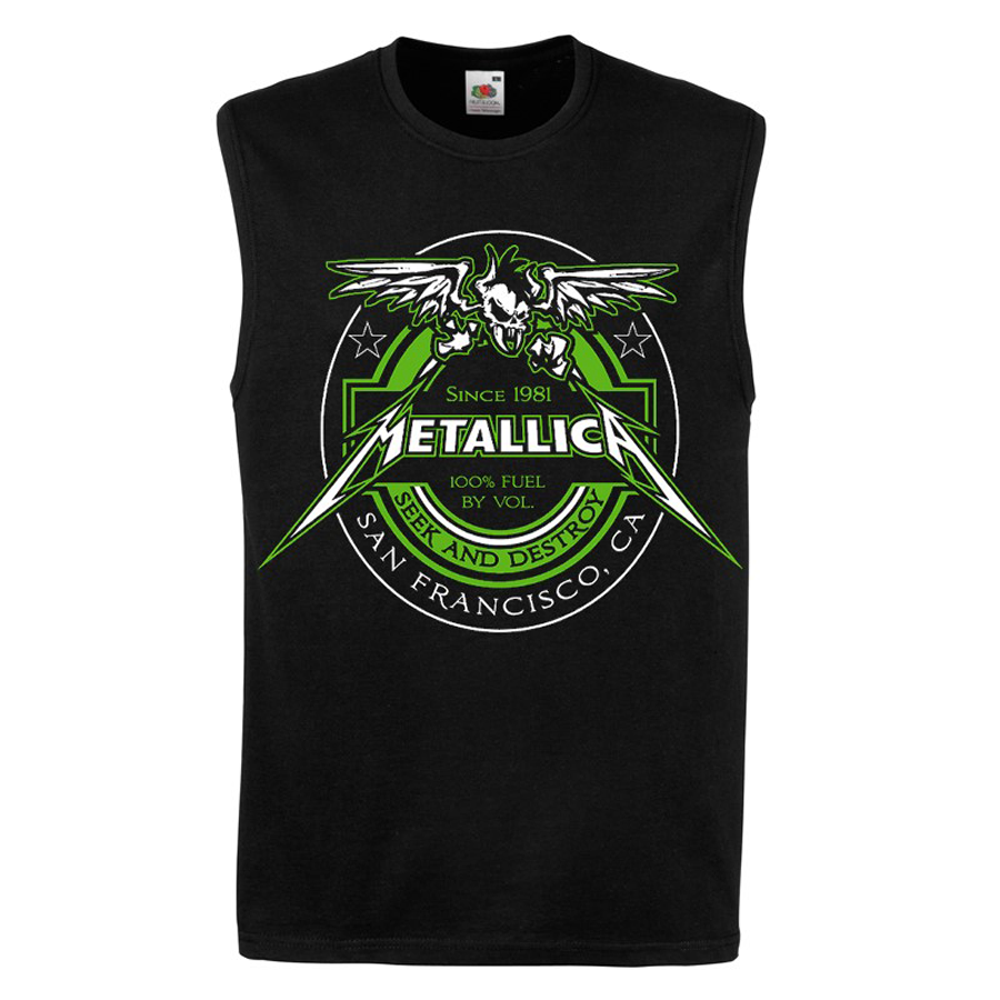Metallica - 100% Fuel Black Tank  Top