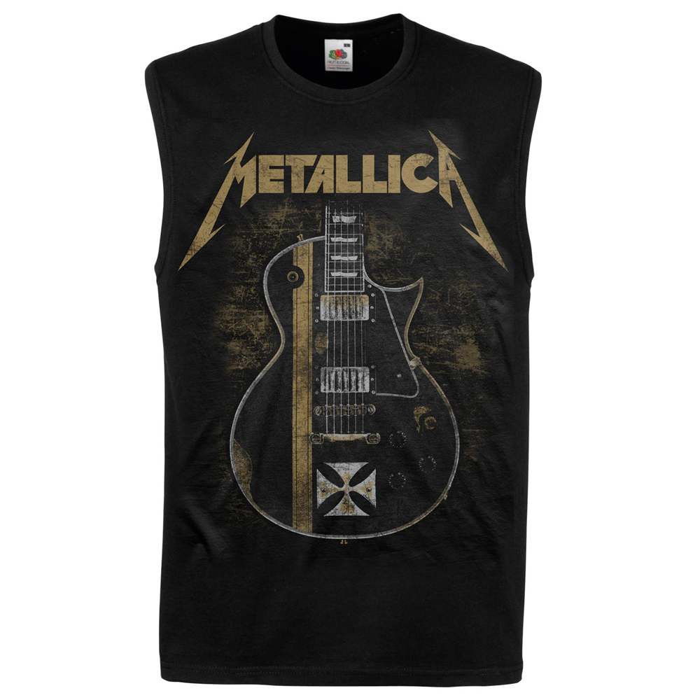 Metallica - Hetfield Iron Cross Black Tank Top