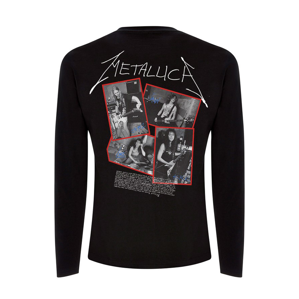 Metallica - Garage Cover (Black Longsleeve)