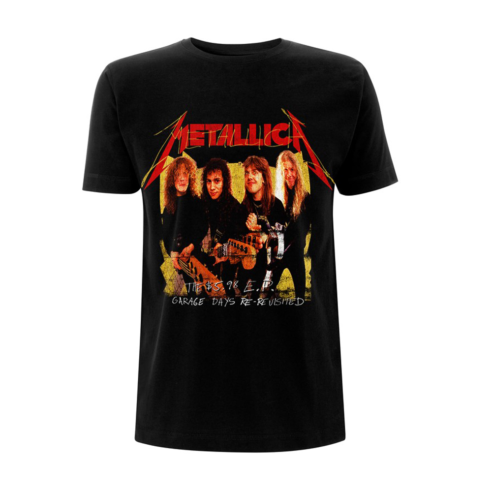 Metallica - Garage Photo Yellow (Black)