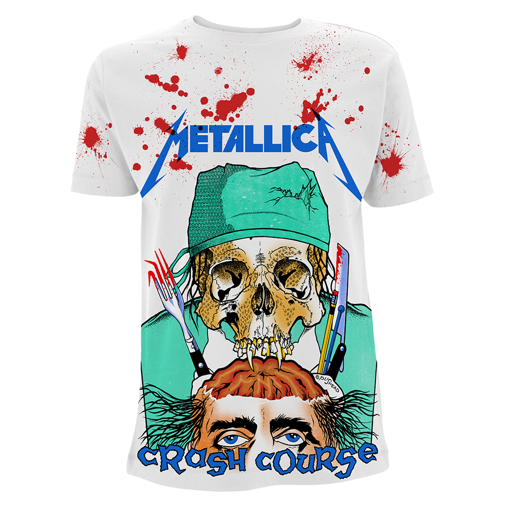 Metallica - Crash Course In Brain Surgery A/O (White)