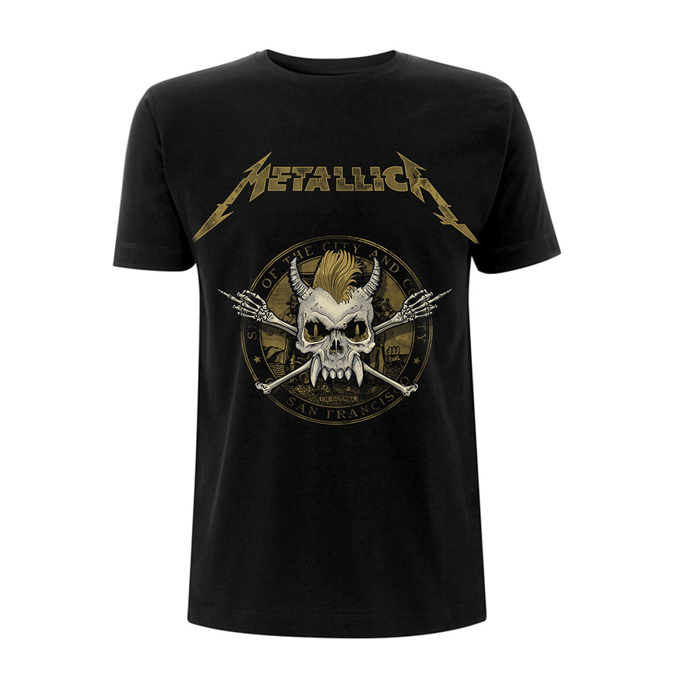 Metallica -  Scary Guy Seal (Black)