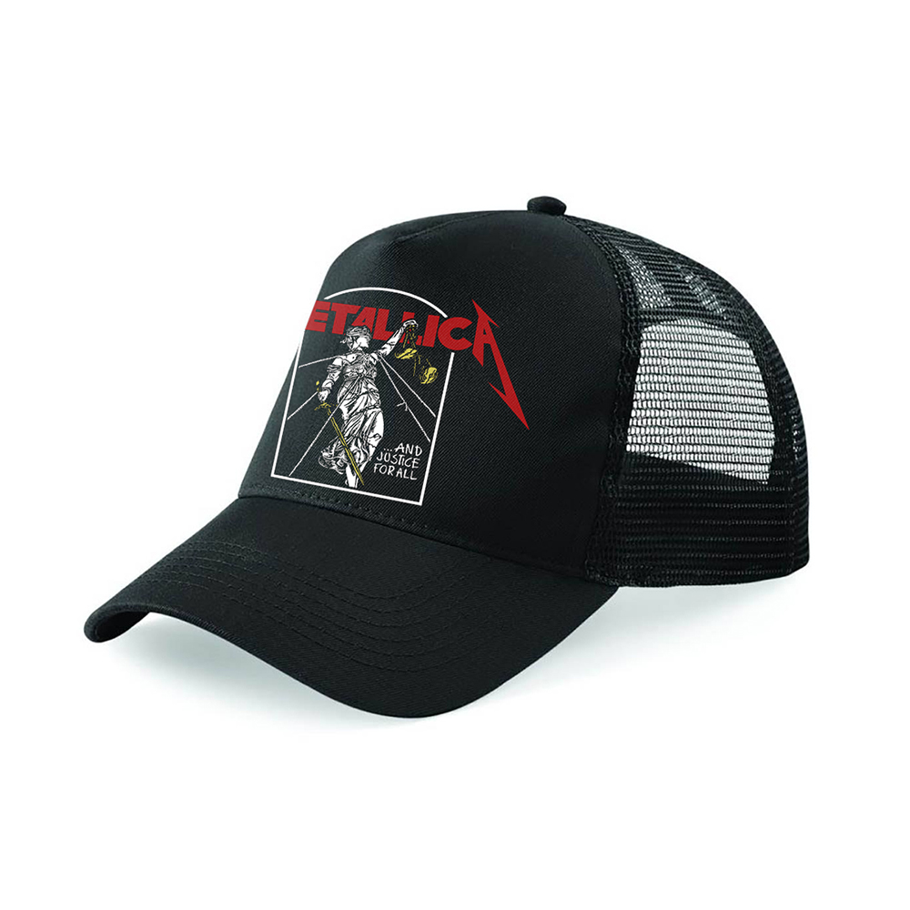 Metallica - Justice (Black Trucker Cap)