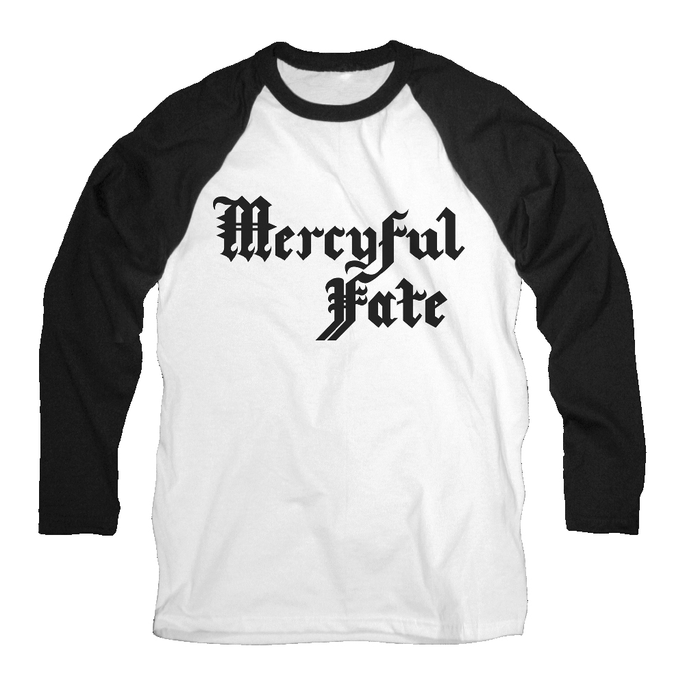 Mercyful Fate - Black Logo (Baseball Shirt)