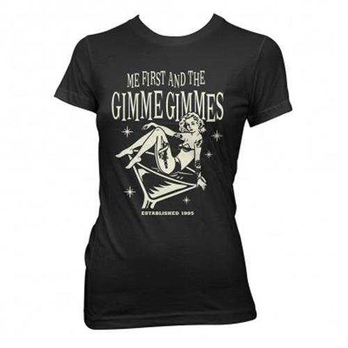 Me First And The Gimme Gimmes - Martini (Women's) (Black)