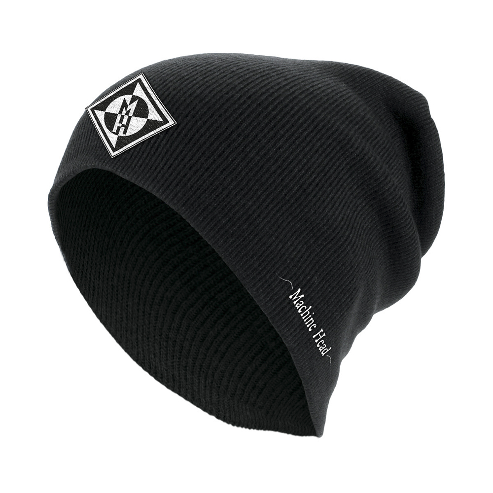 Machine Head - Diamond Black Slouch Beanie