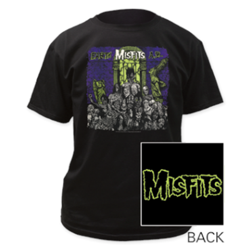Misfits - Earth AD (Black)