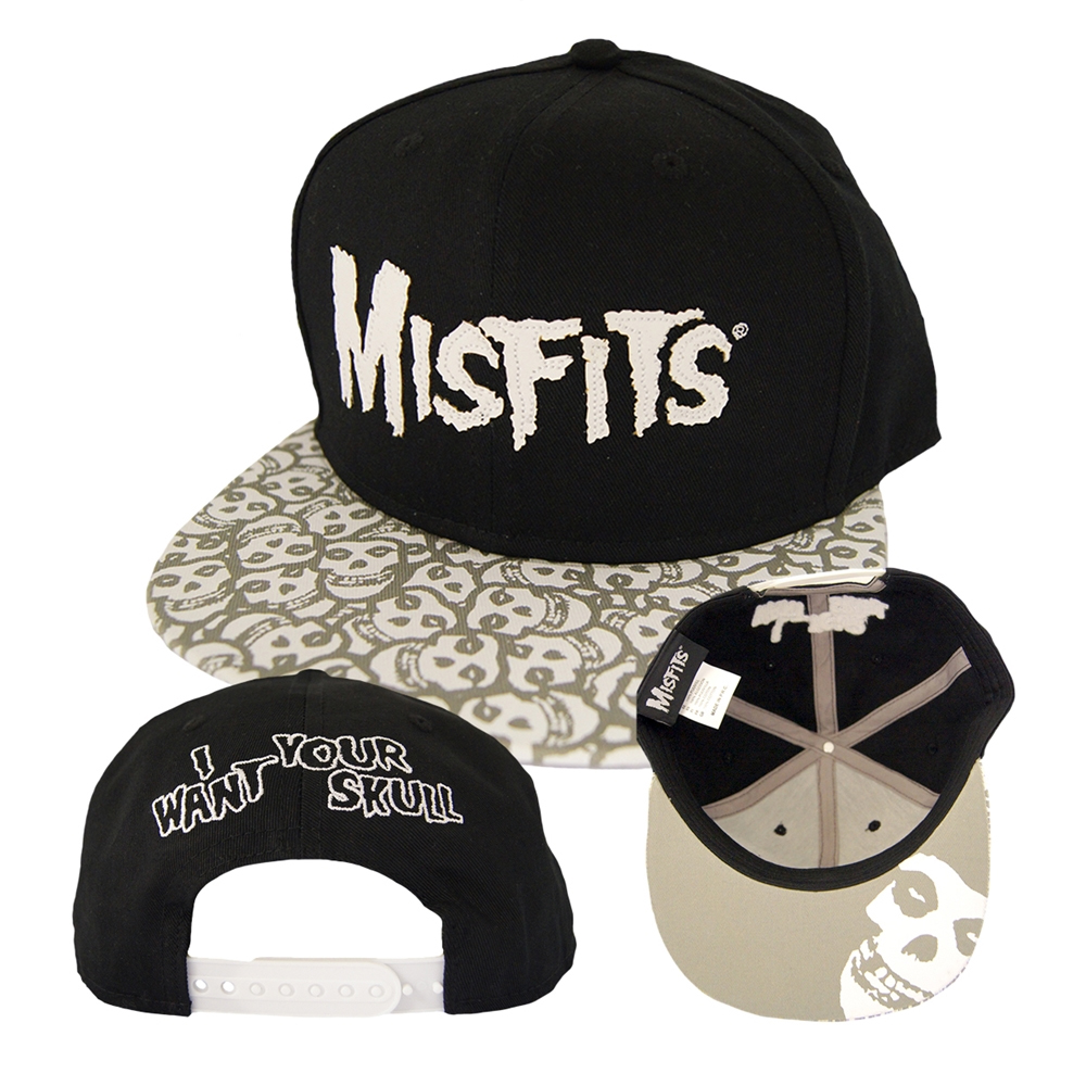Misfits - I Want Your Skull (Baseball Cap)