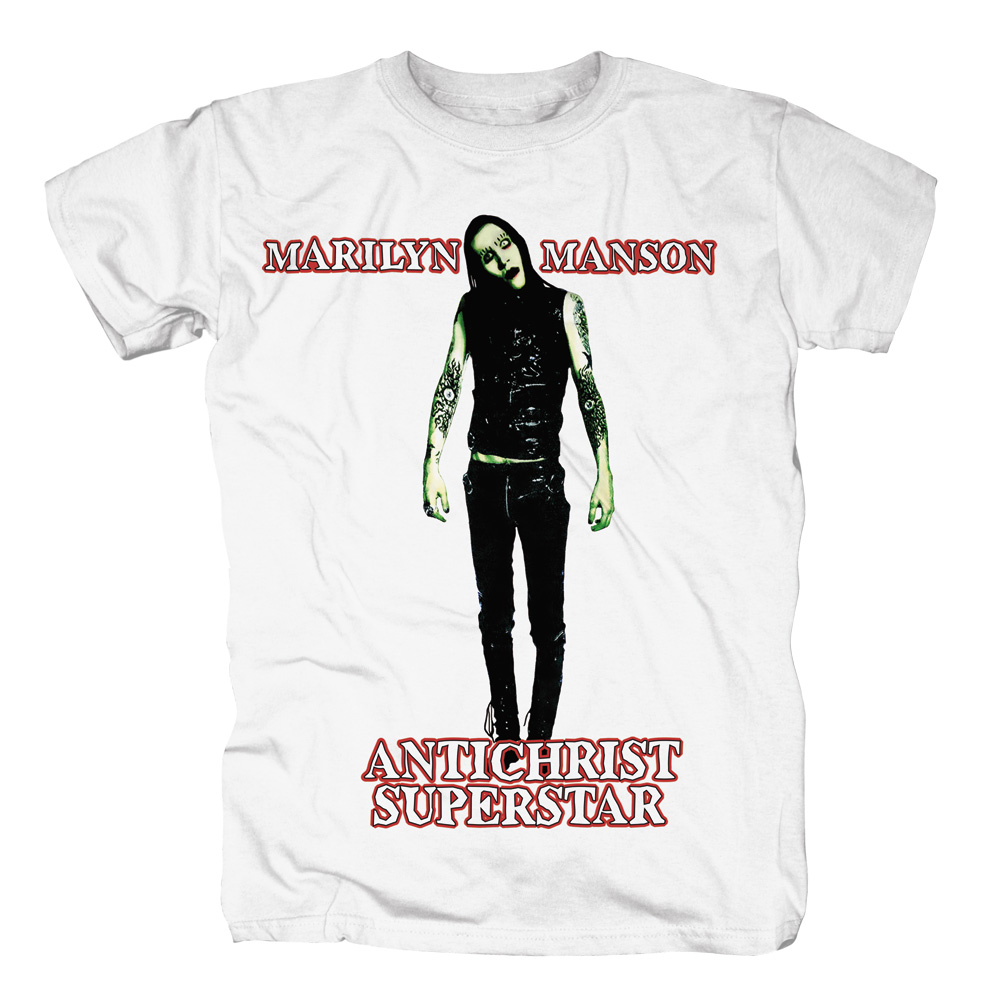 Marilyn Manson - Anti-Christ Superstar (White)
