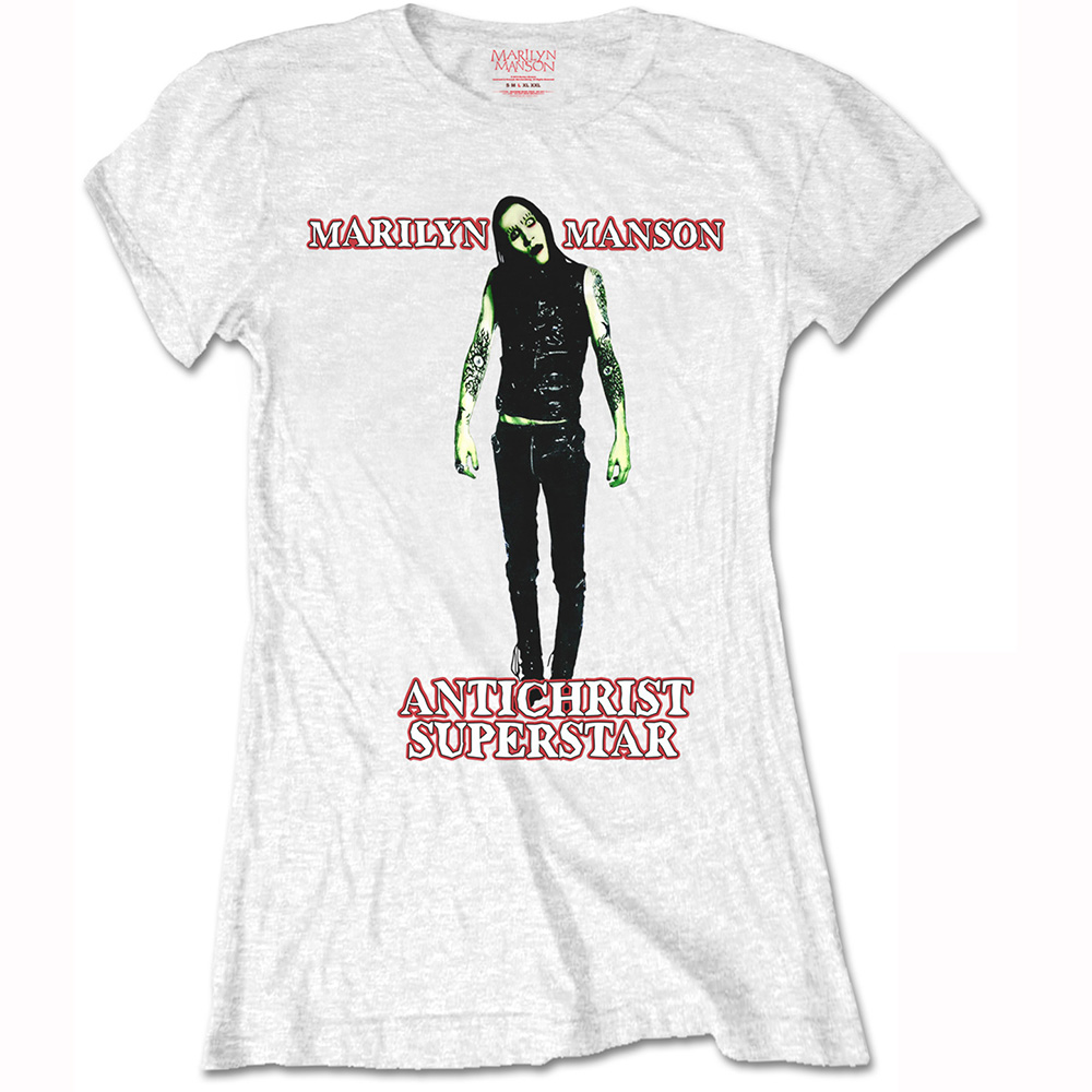 Marilyn Manson - Anti-Christ (White) (Women's)