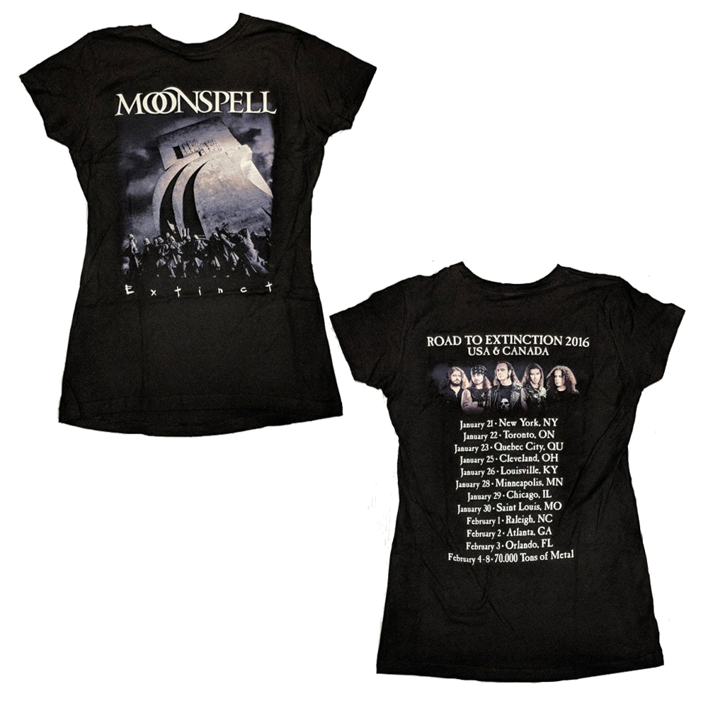 Moonspell - Black Tour (Ladies)