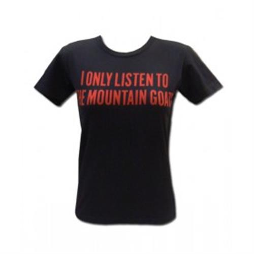The Mountain Goats - Red Print Listen (Black) (Women's)