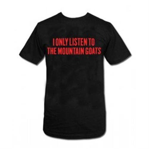 The Mountain Goats - Red Print Listen (Black)