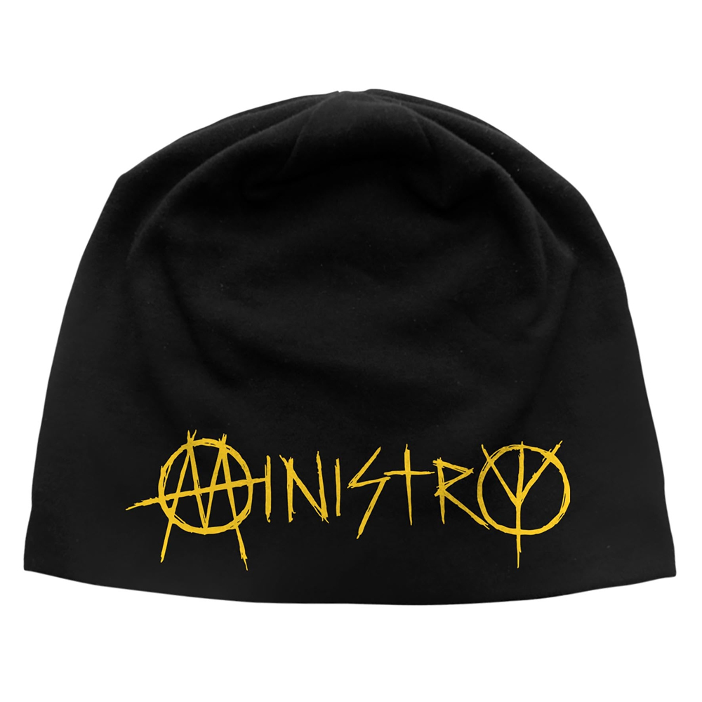 Ministry - Logo (Discharge Beanie Hat)