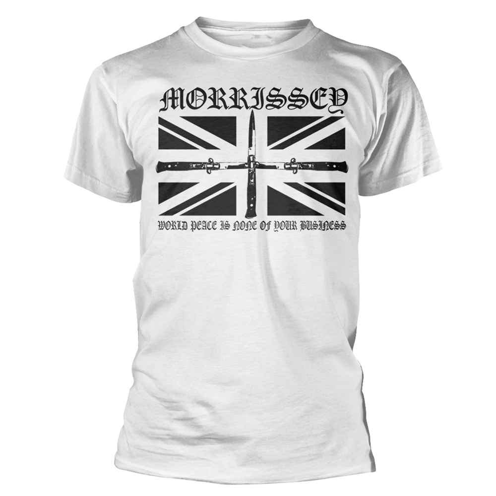 Morrissey - Flick Knife  (White)