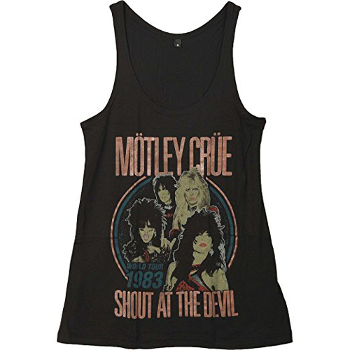 Motley Crue - Shout At The Devil (Black) (Women's)