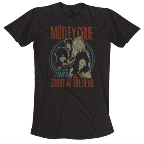 Motley Crue - Vintage World Tour (Black)